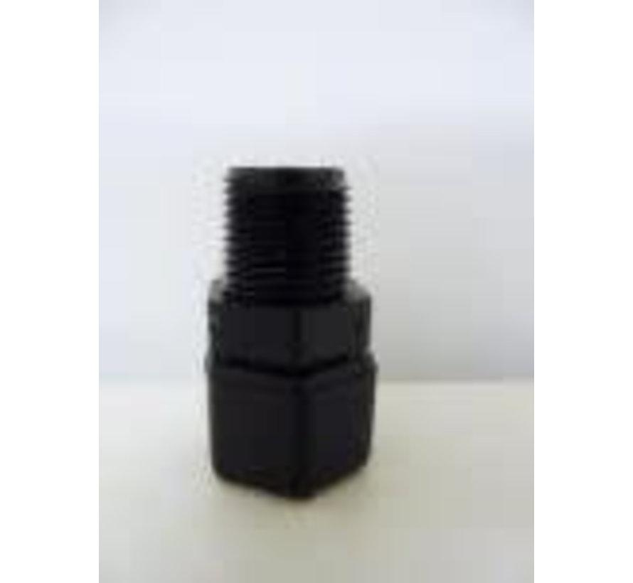 Elektrodehouder voor pH of ORP electrodes in aanboorzadel bij Security Pool pH-redox