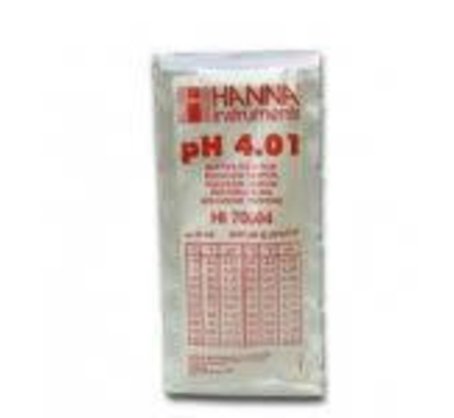Calibratievloeistof PH 4.01 20ml