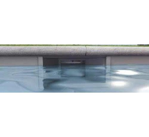 Aquareva SPECIALE Hoge Waterlijn Skimmer liner bad Aquareva wit
