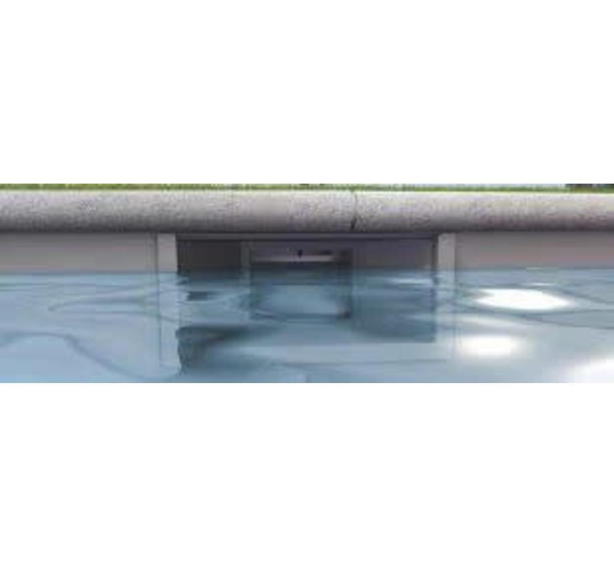 SPECIALE Hoge Waterlijn Skimmer liner bad Aquareva wit