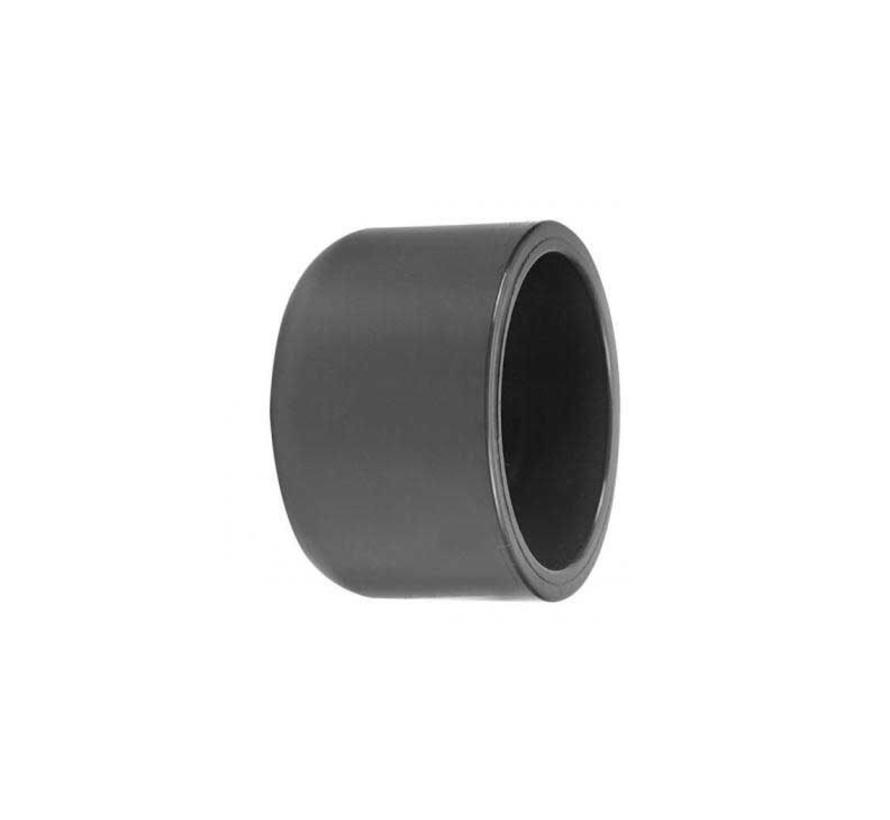 PVC grijze lijmkap  50mm dop