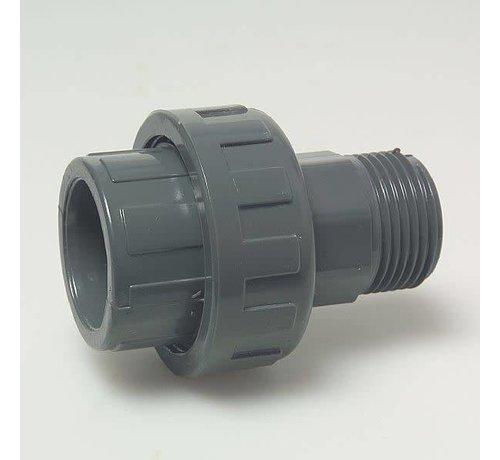 3/3 Koppeling 50mm X 1/2 inch buitendraad