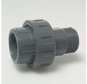 3/3 Koppeling 50mm X 2 inch buitendraad