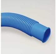 Mega Pool blauwe vacuum slang met dubbele mof 32 mm - om de 1,1mtr