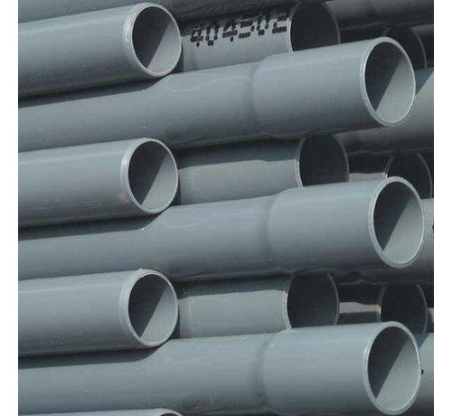 PVC drukbuis, 10 bar 63mm per meter