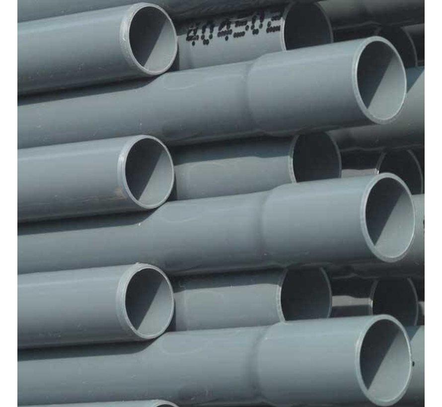 PVC drukbuis, 16 bar 63mm per meter