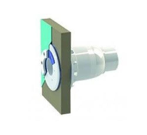 Spectravision Spectravision Wanddoorvoer smalle wand 50-63mm