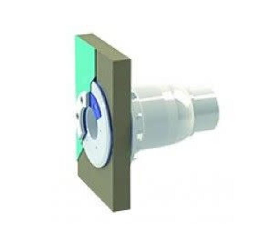 Spectravision Wanddoorvoer smalle wand 50-63mm