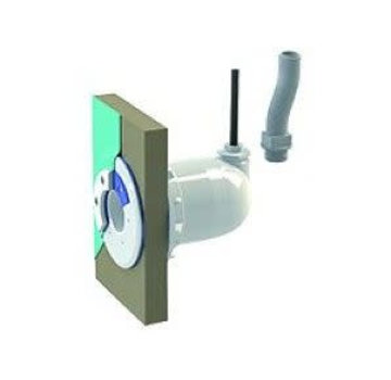 Spectravision Spectravision Wanddoorvoer smalle wand 25mm flexibel of kabel