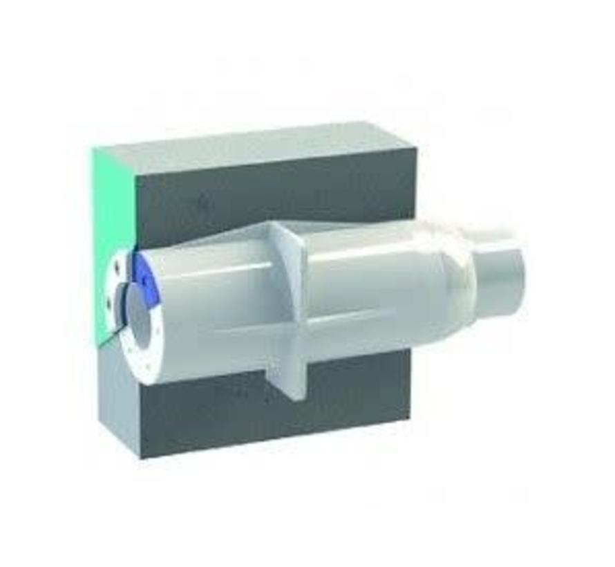 Spectravision Wanddoorvoer vaste buis 50 -63mm