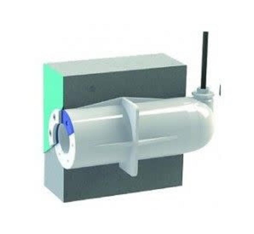 Spectravision Wanddoorvoer liner 25mm flexibel