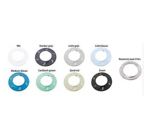 Spectravision Afwerkingsring ledlamp 10cm gekleurd Adagio+