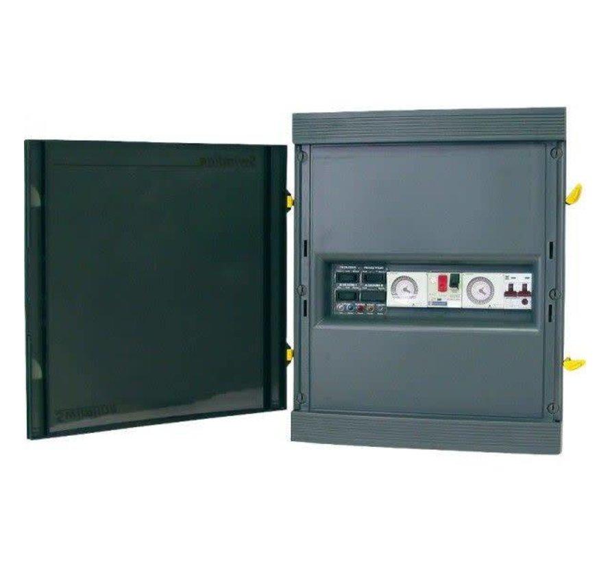 Transfokast met schakelaar voor verlichting  900VA 3 lampen 300W