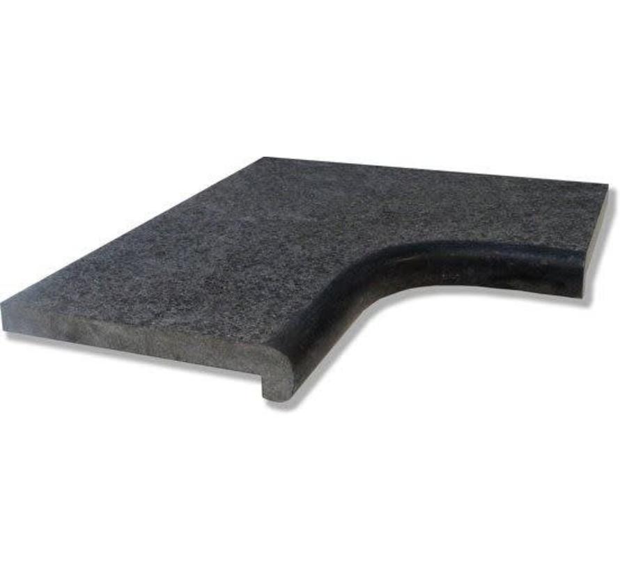 BINNENHOEK PANDA BLACK TYPE 4 MET VERZOETE RONDE NEUS