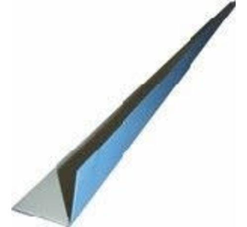 Lasprofiel 2m 5 x 2 cm per meter