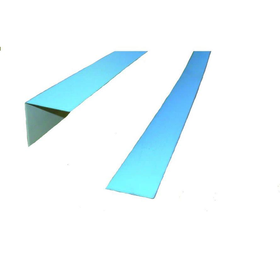 Lasprofiel plat 2m 5cm per meter