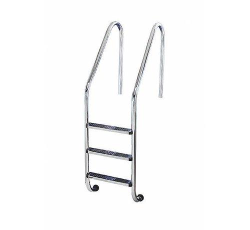 Ladder Inox 316  4xAnti-slip trede