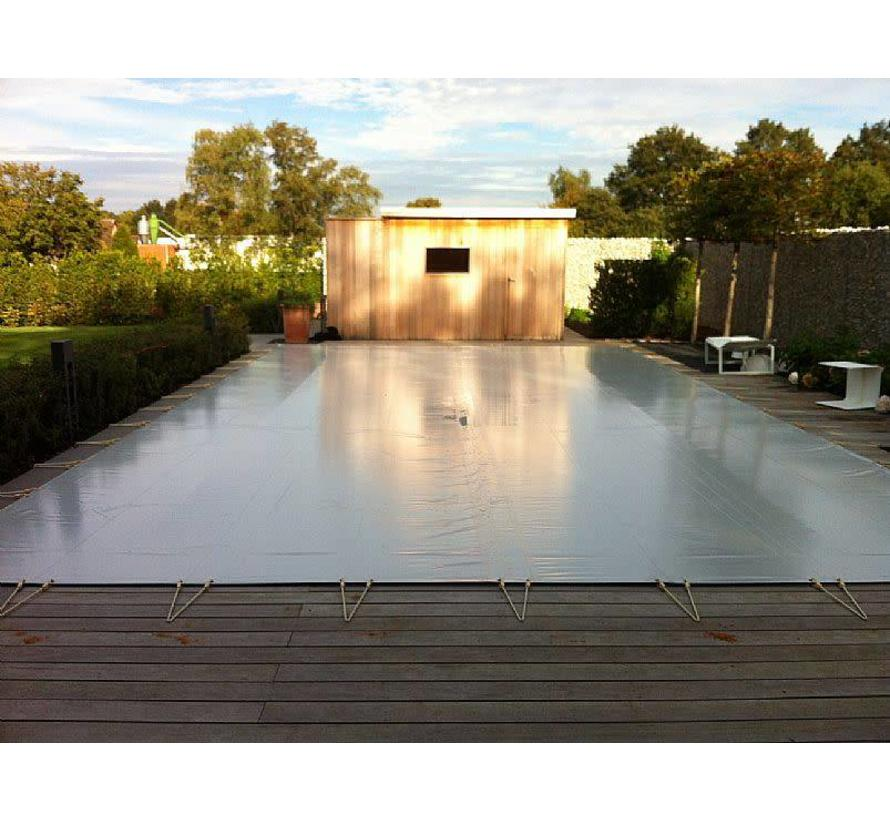 winterzeil zwembad donkergrijs per m2