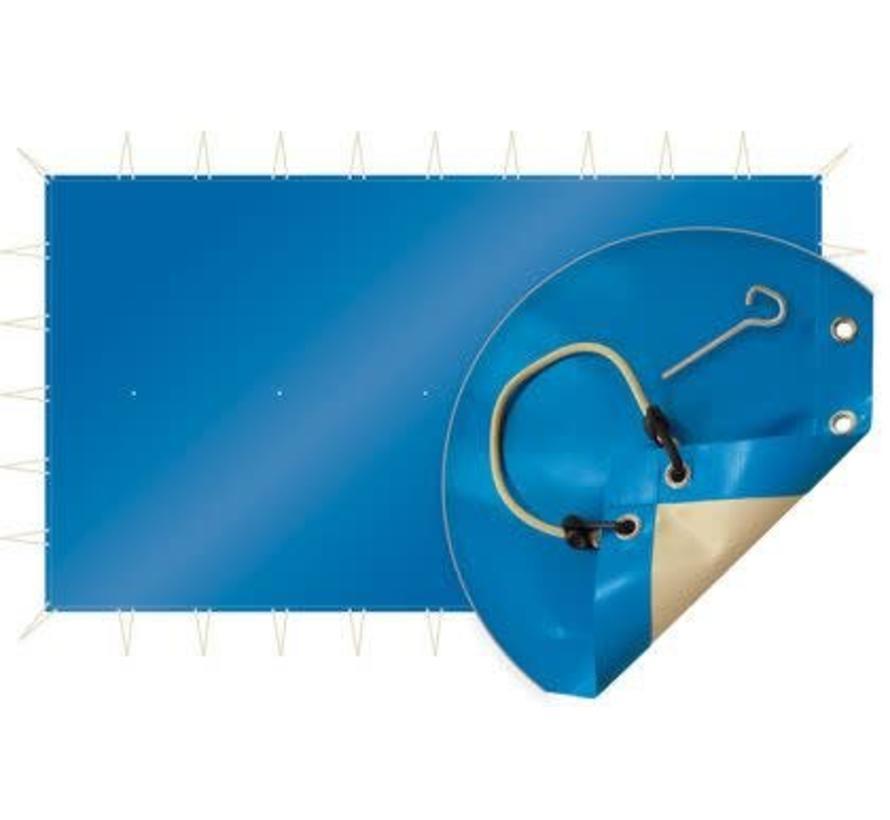 Winterzeil zwembad blauw per m2