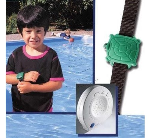 Safety Turtlle Basisstation met 2 schilpadarmbanden