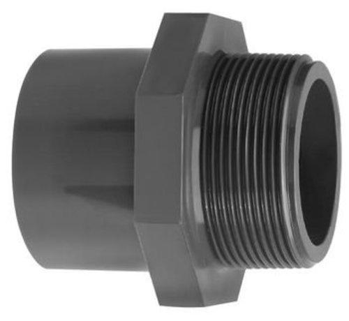 Puntstuk met zes-/achtkant 50/63X1 1/2 inch buitendraad