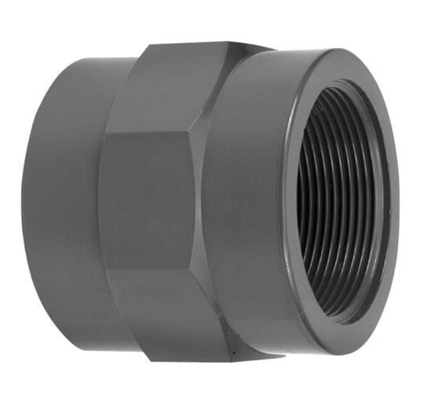 Draadsok 50mm X 1 1/2 inch binnendraad