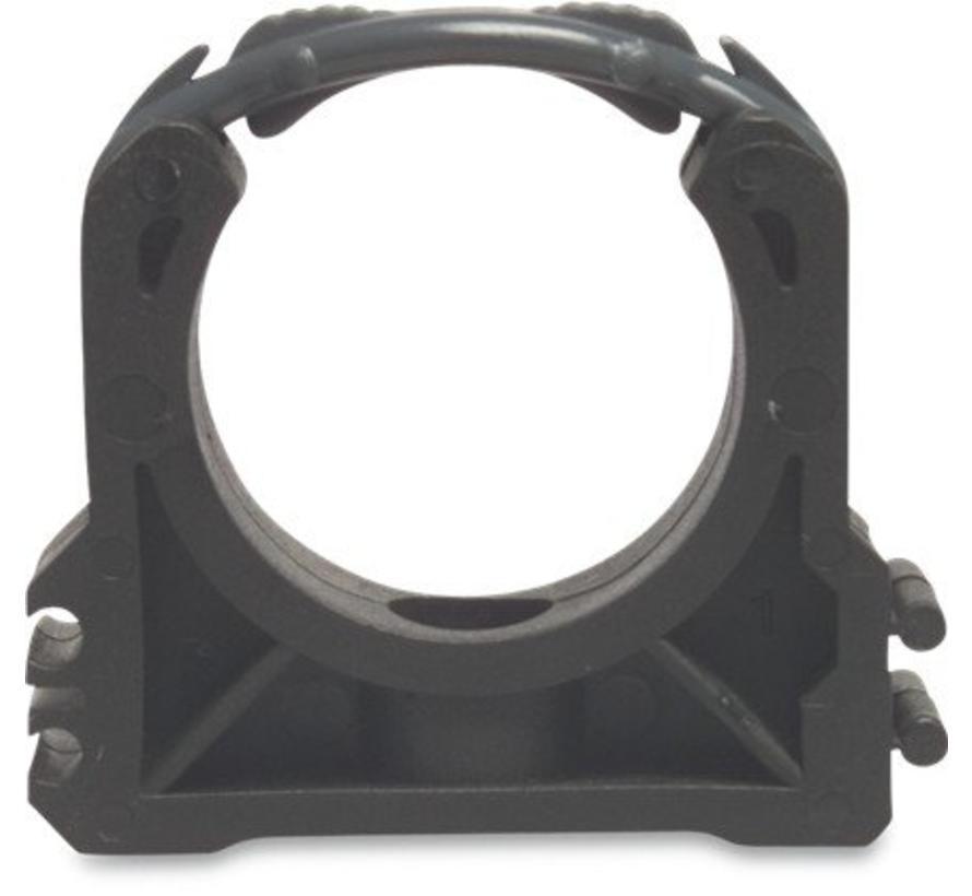 Klem voor PVC buis diameter 63 mm