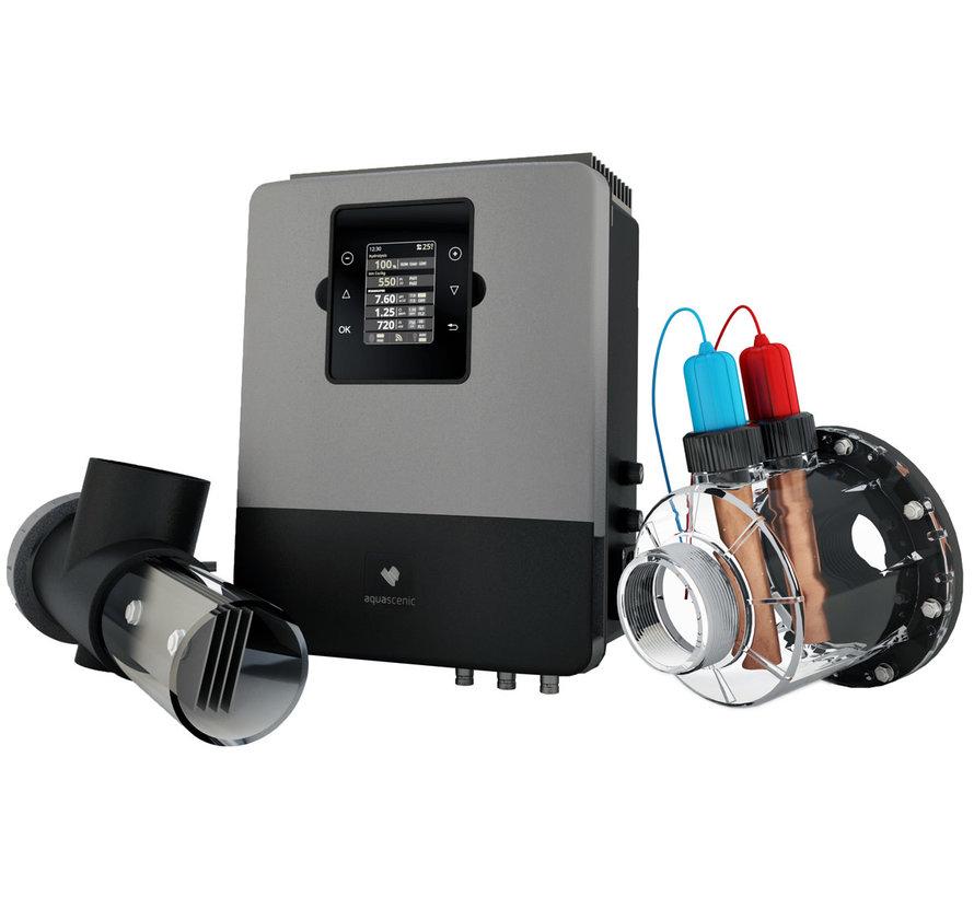 Aquascenic HD3 Hydrolyse & koper/zilver ionisatie