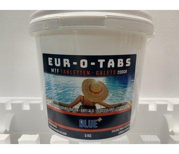 Eur-O-Tabs Multi-actie chloortabletten 250gr 5kg