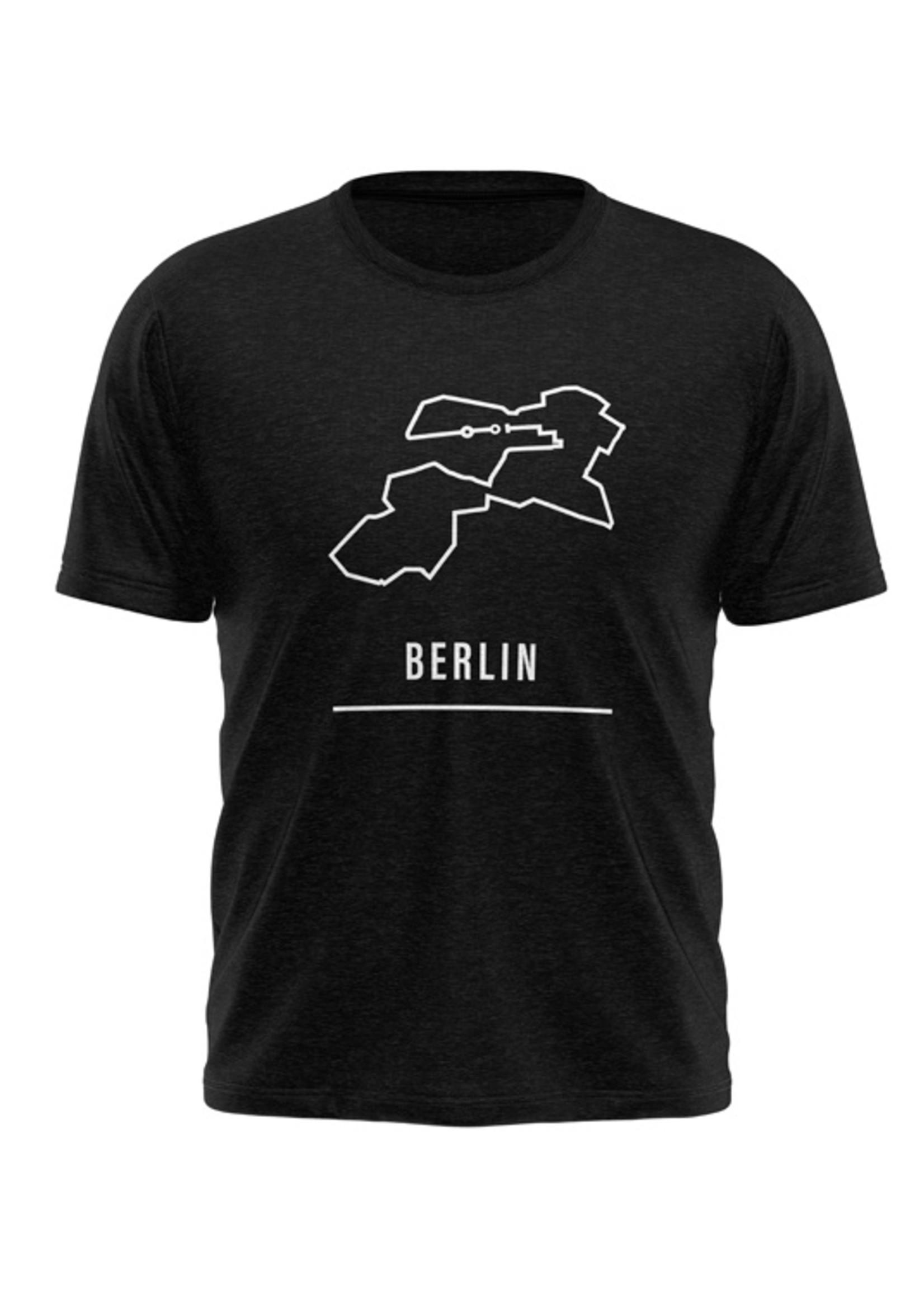 Rebel & Dutch Heren sportshirt Berlin marathon