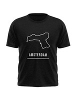 Rebel & Dutch Men sportshirt Amsterdam halve marathon