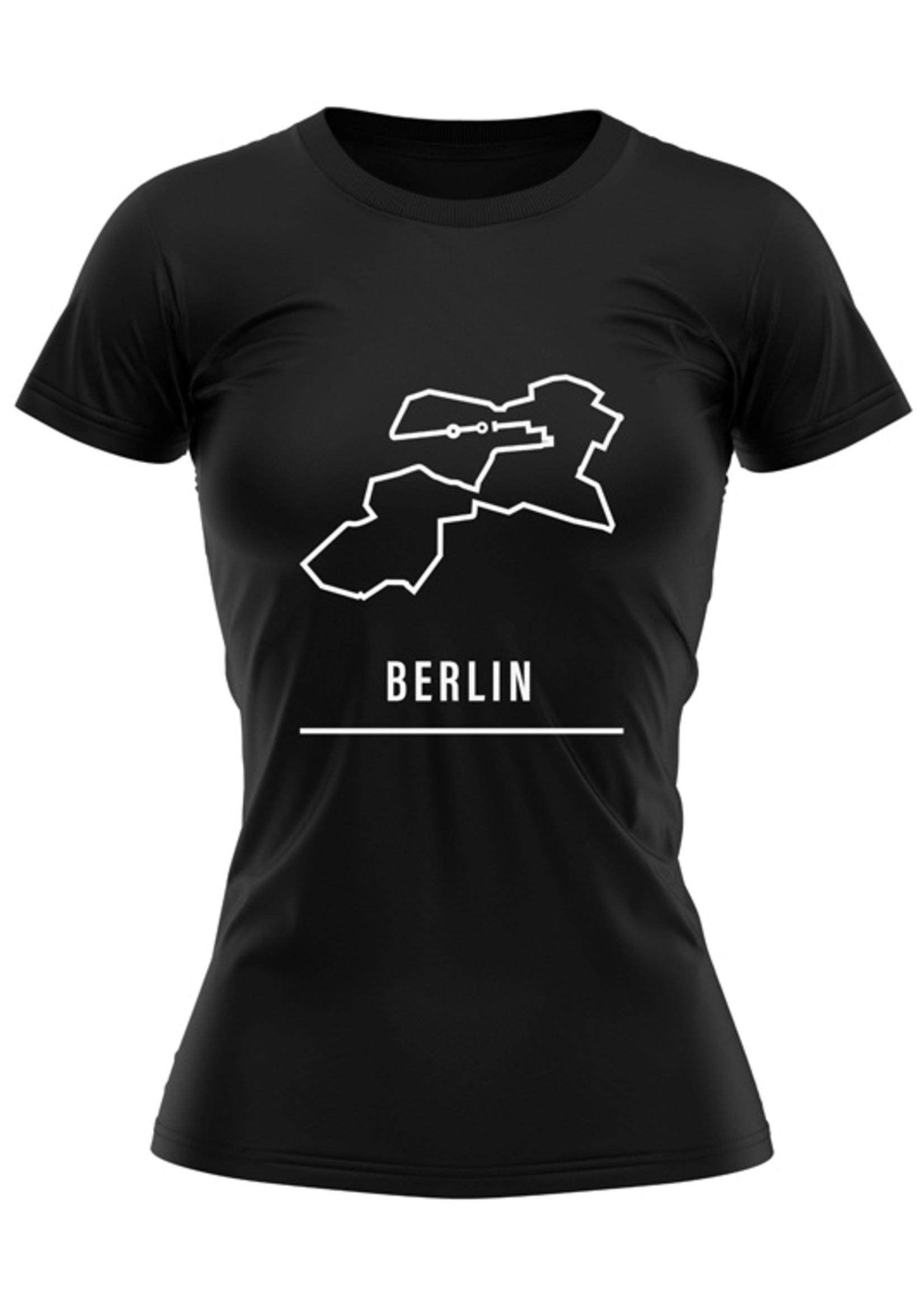 Rebel & Dutch Dames sportshirt Berlin marathon