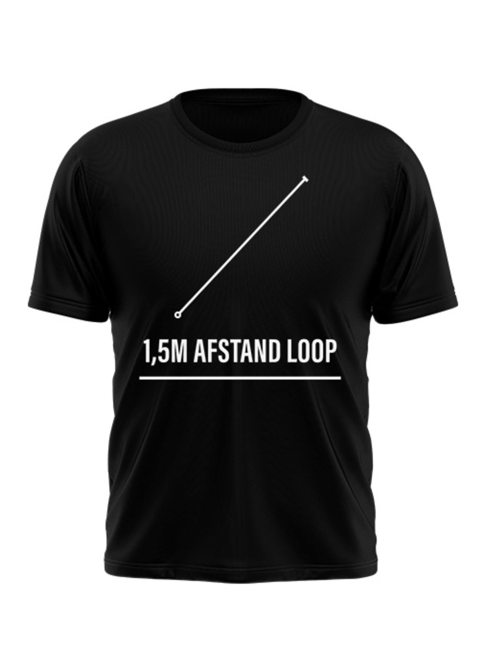 Rebel & Dutch 1,5m afstand loop sportshirt