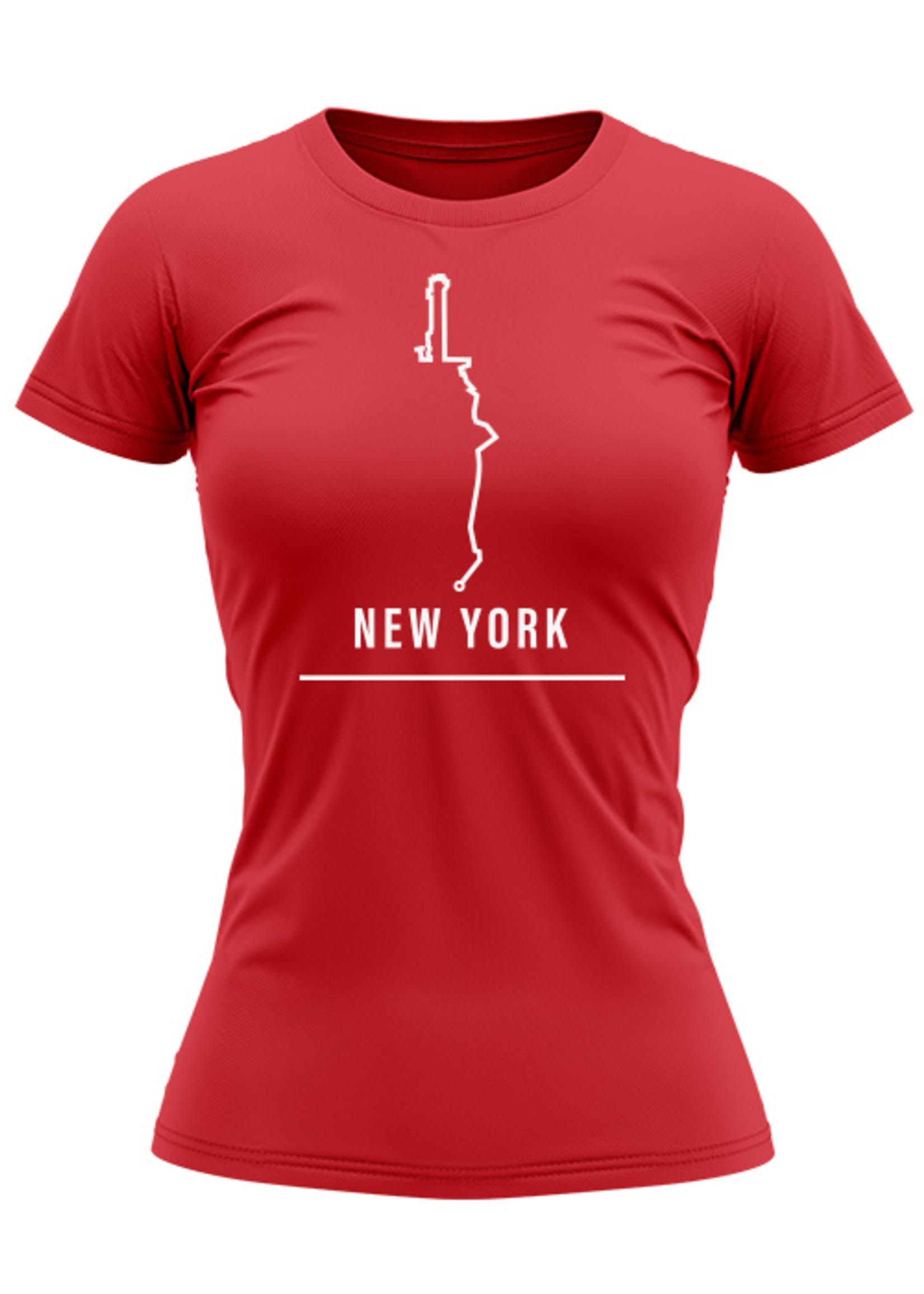 Rebel & Dutch Dames sportshirt New York marathon
