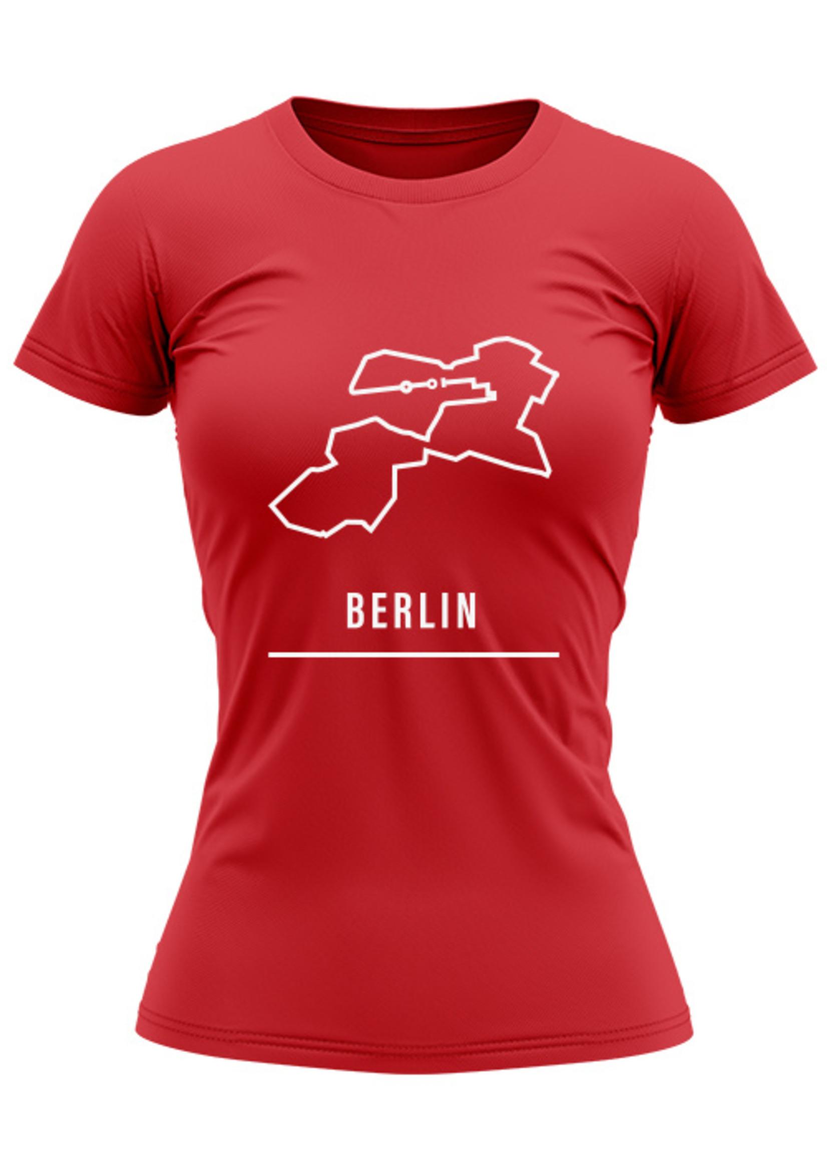 Rebel & Dutch Woman sportshirt Berlin marathon