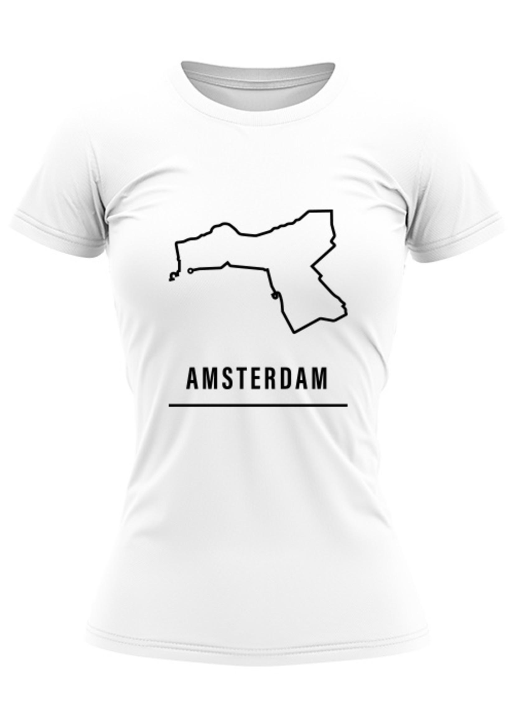 Rebel & Dutch Woman sportshirt Amsterdam halve marathon