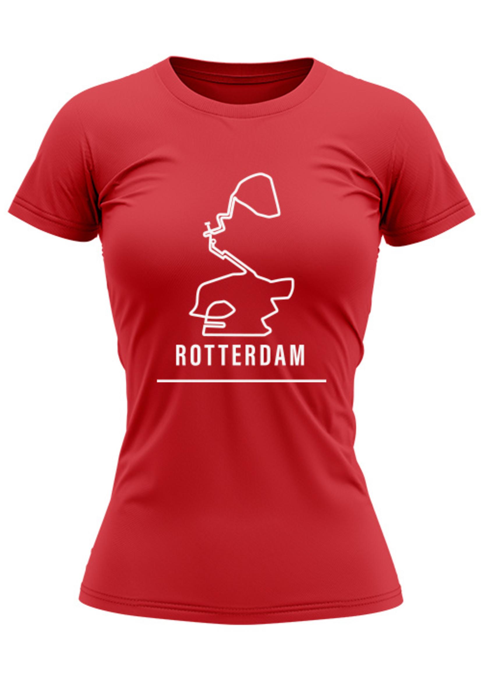 Rebel & Dutch Woman sportshirt Rotterdam marathon