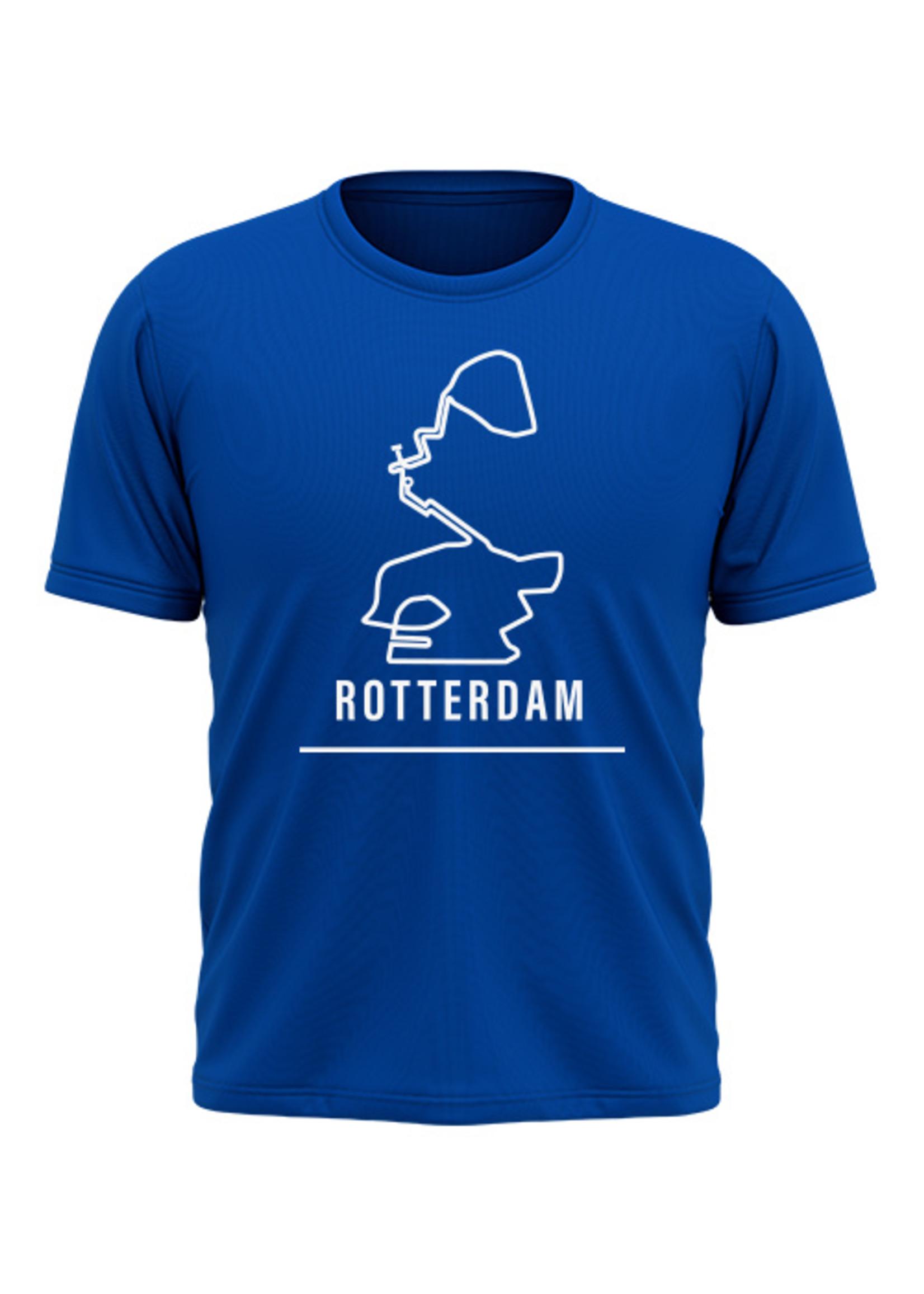 Rebel & Dutch Heren sportshirt Rotterdam marathon