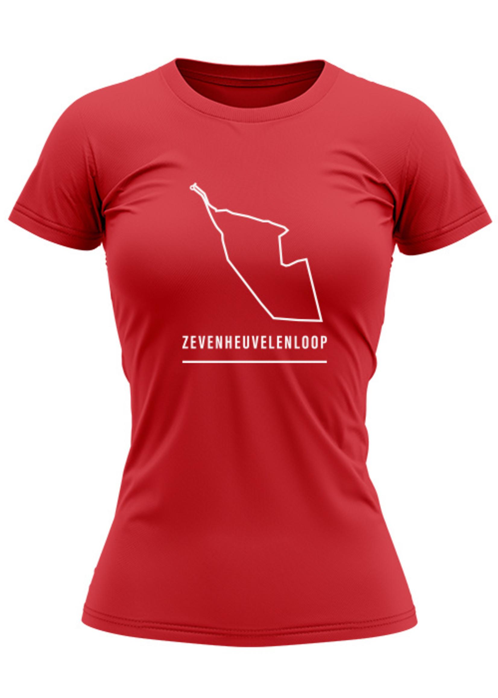 Rebel & Dutch Dames sportshirt Zevenheuvelen loop