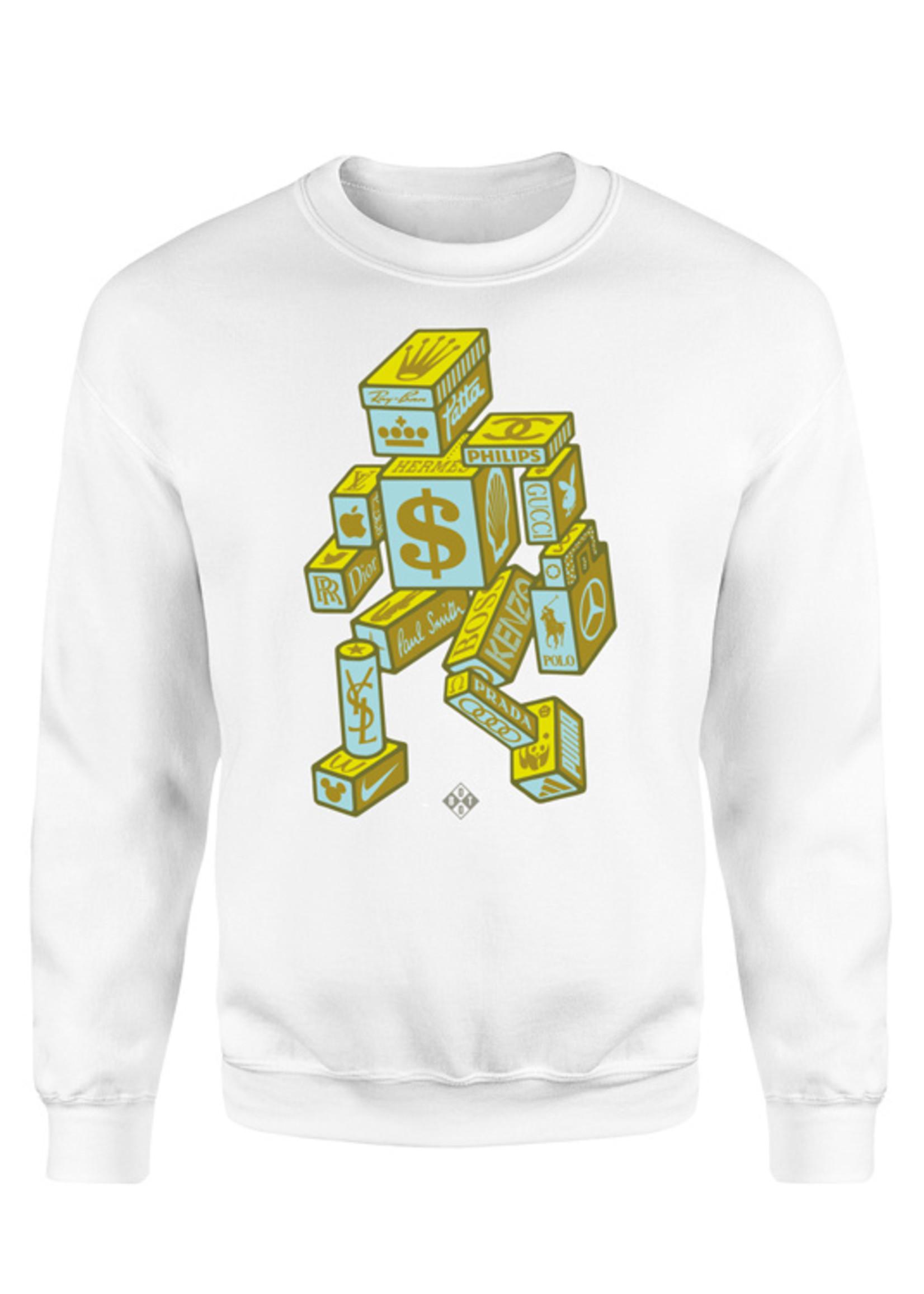 Rebel & Dutch Fuck me i'am rich sweater