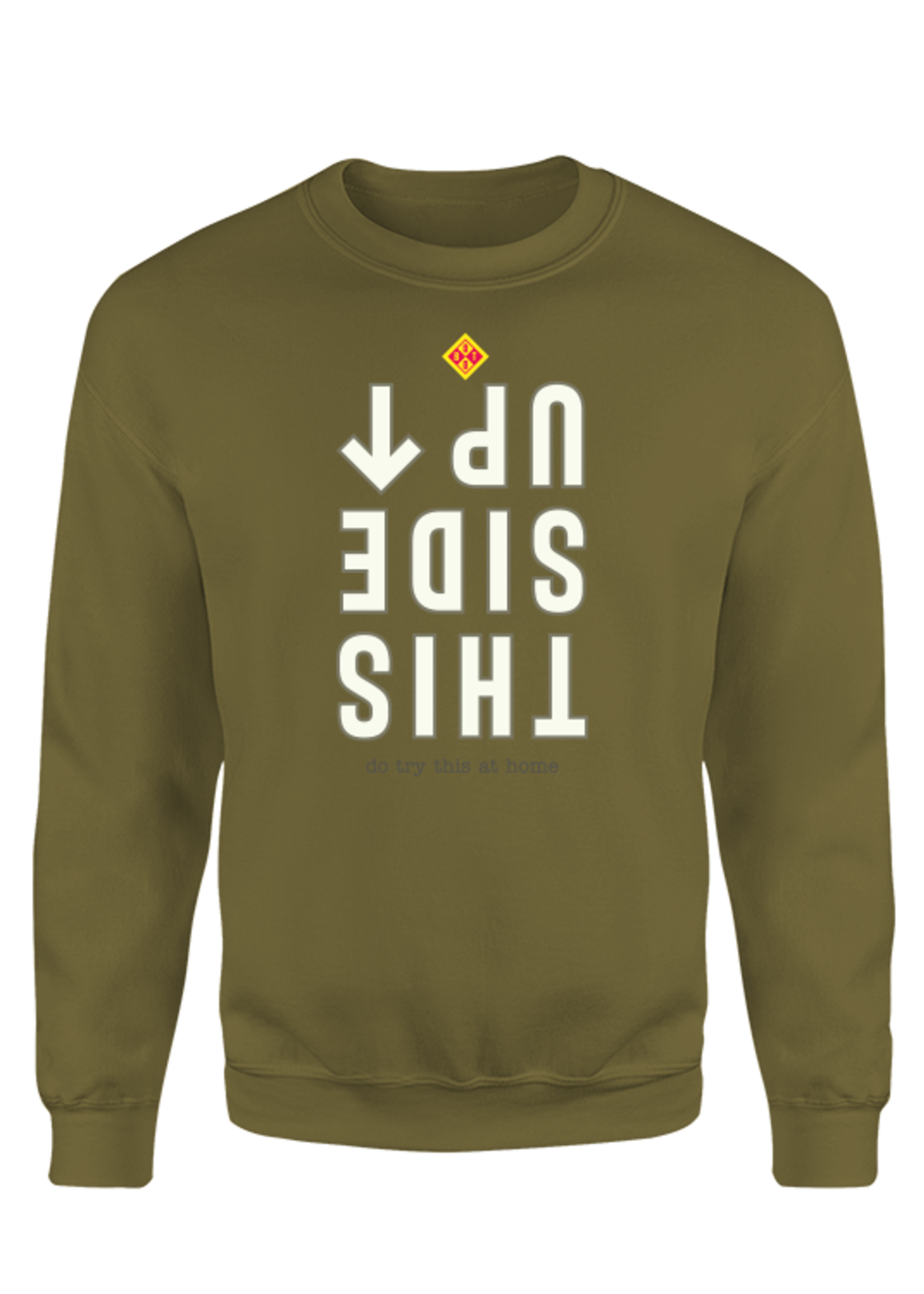 Rebel & Dutch This side up sweater