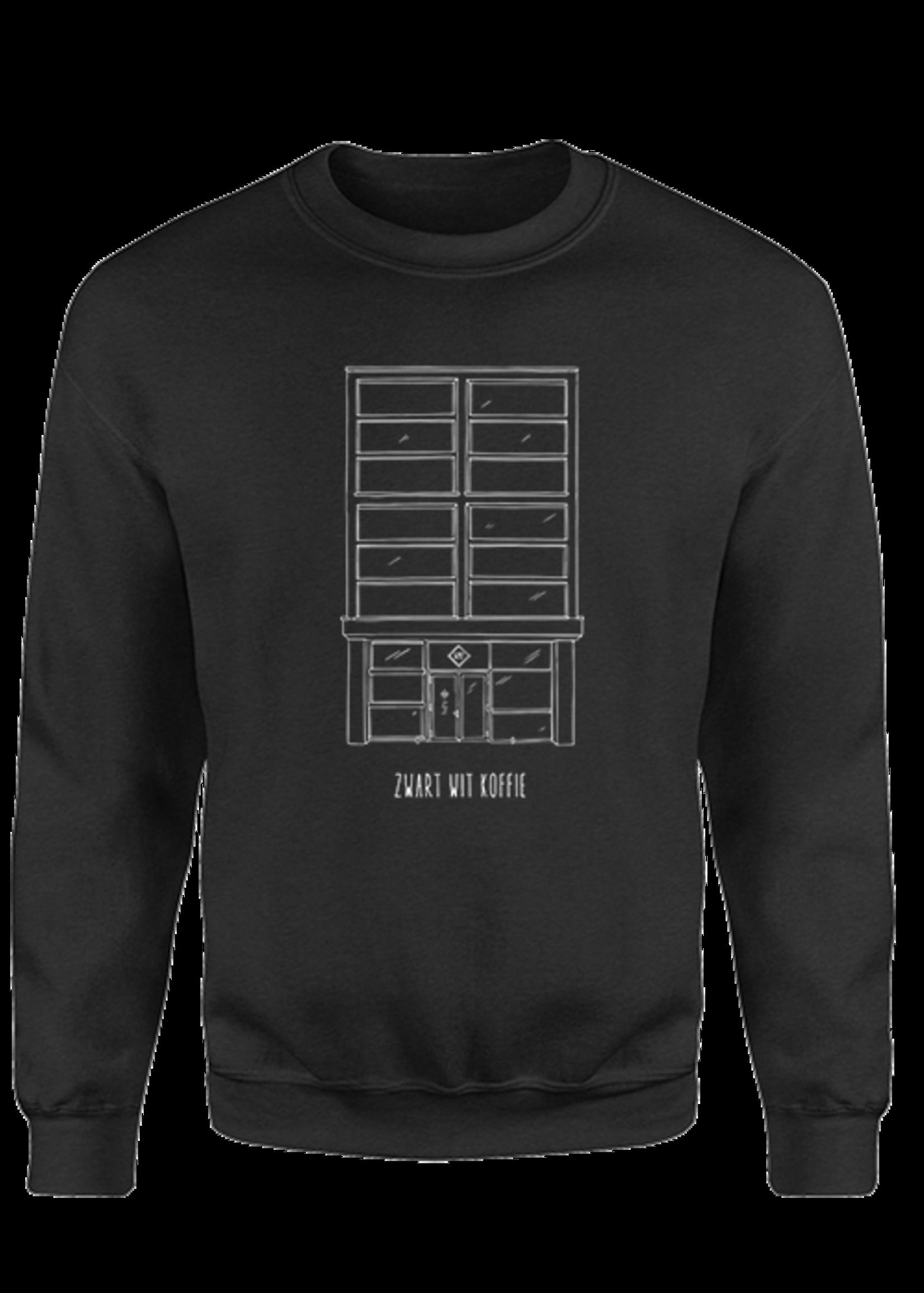 Rebel & Dutch ZwartWit Koffie Sweater