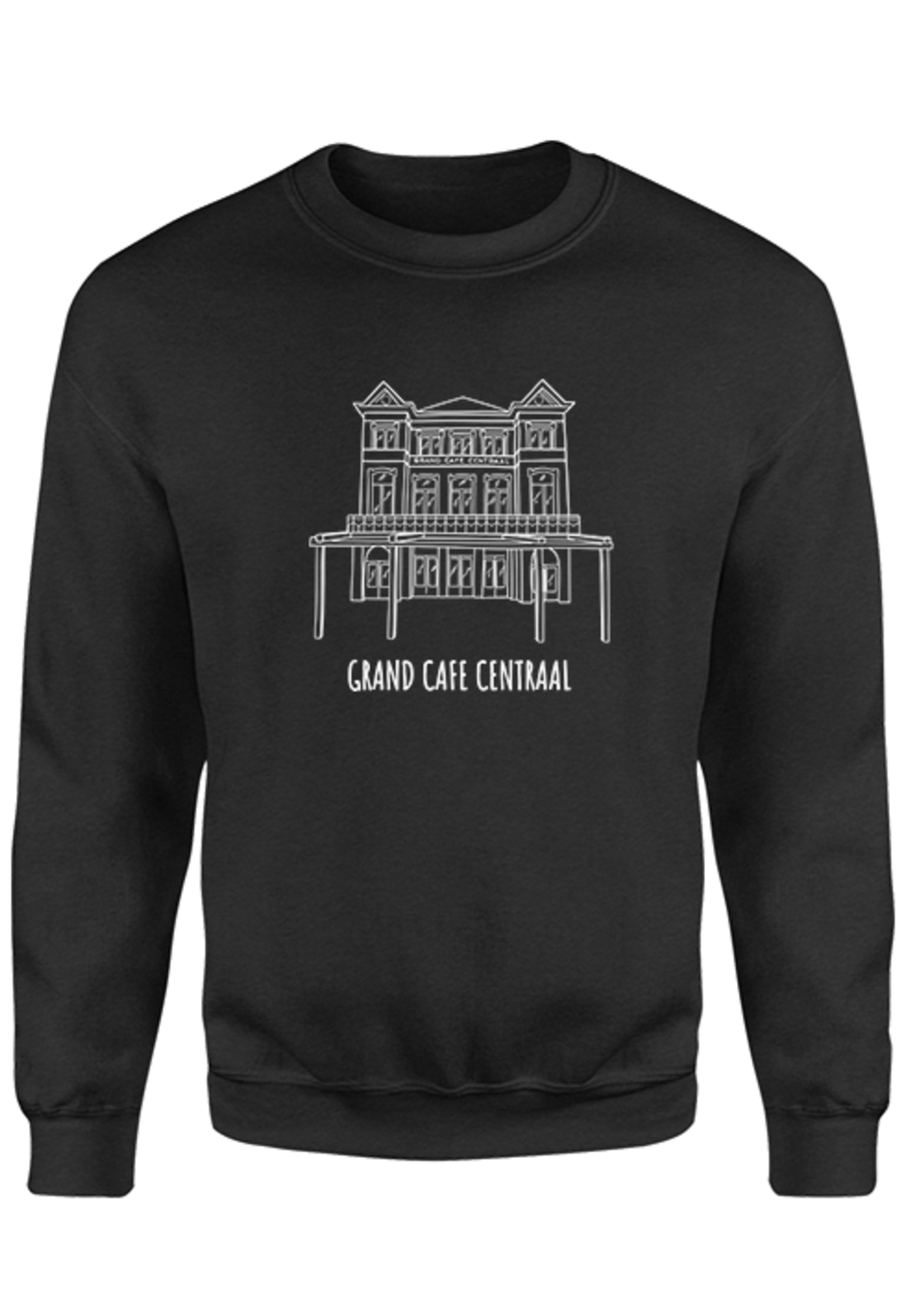 Rebel & Dutch Grand Cafe Centraal Sweater