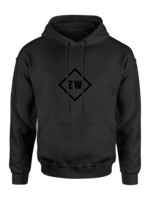 Rebel & Dutch ZwartWit hoody Black Black