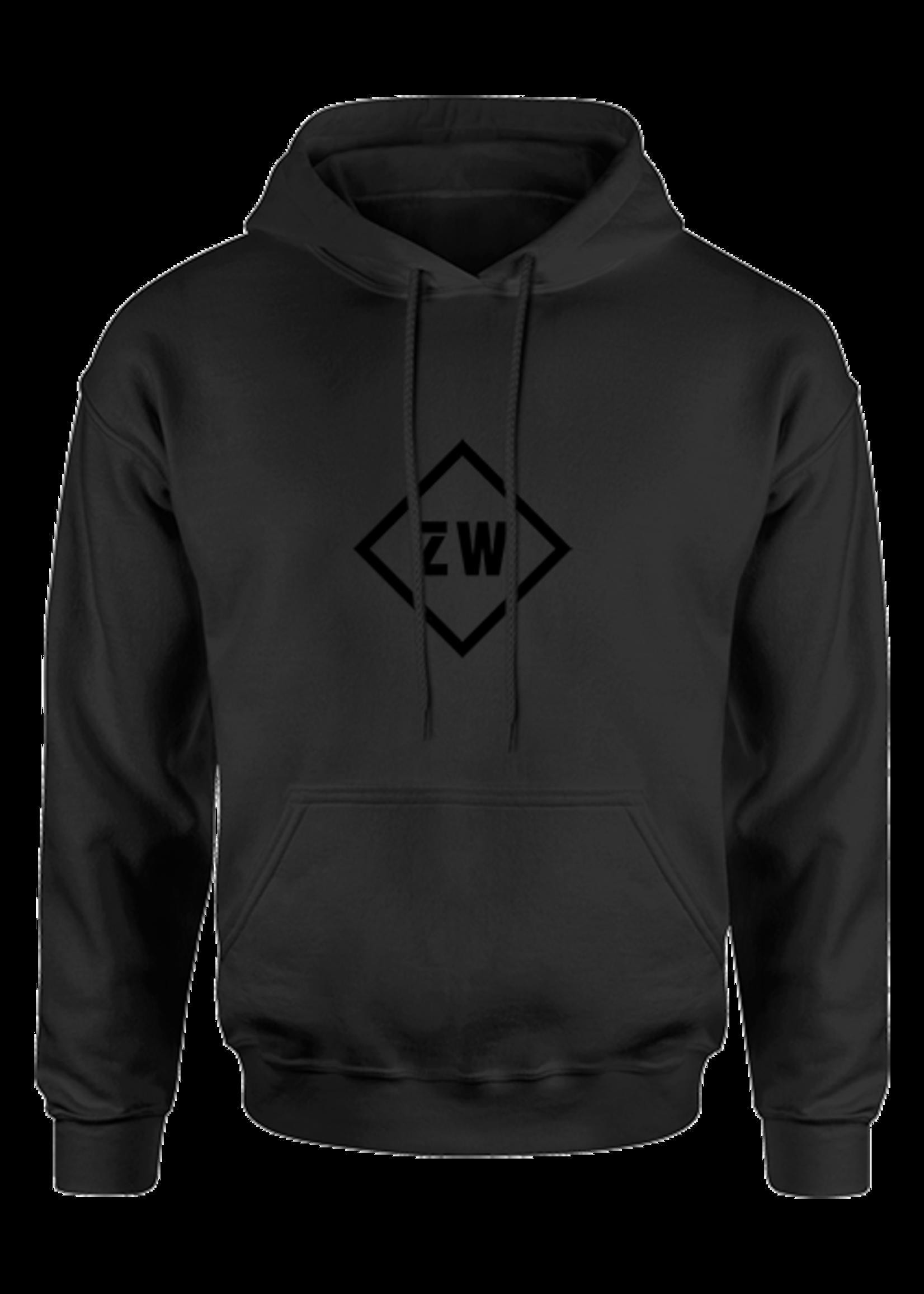 Rebel & Dutch ZwartWit hoodie