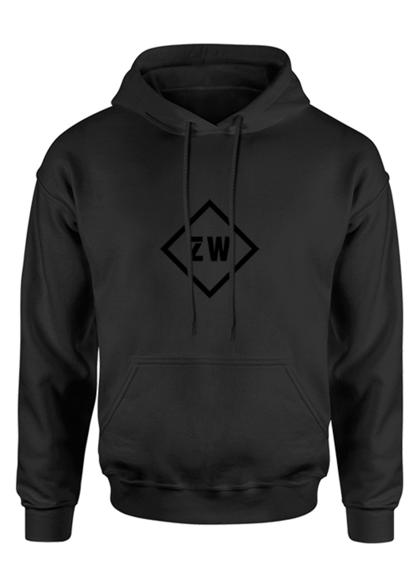 Rebel & Dutch ZwartWit hoody