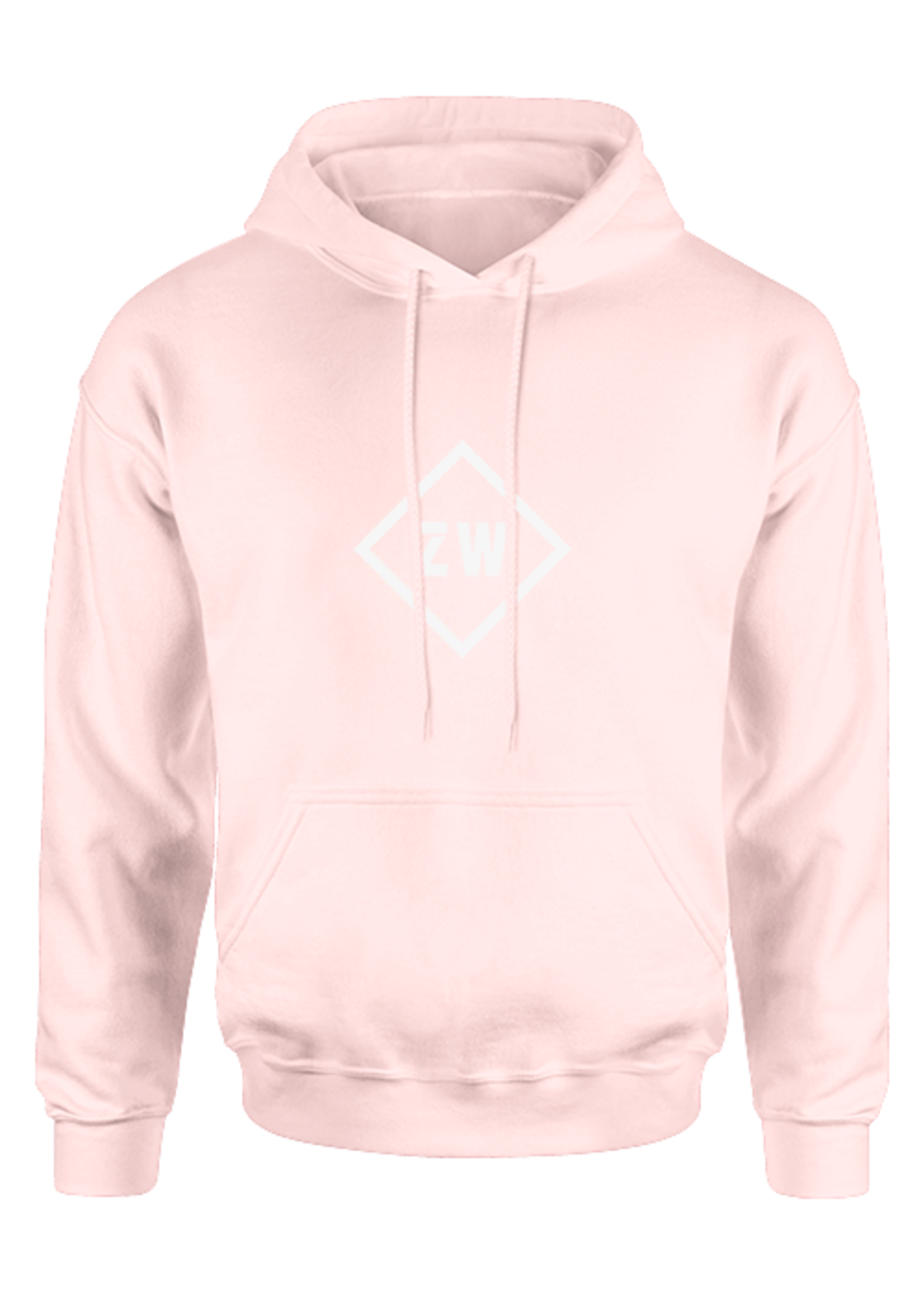 Rebel & Dutch ZwartWit hoodie  roze wit