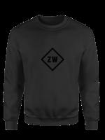 Rebel & Dutch ZwartWit sweater black black