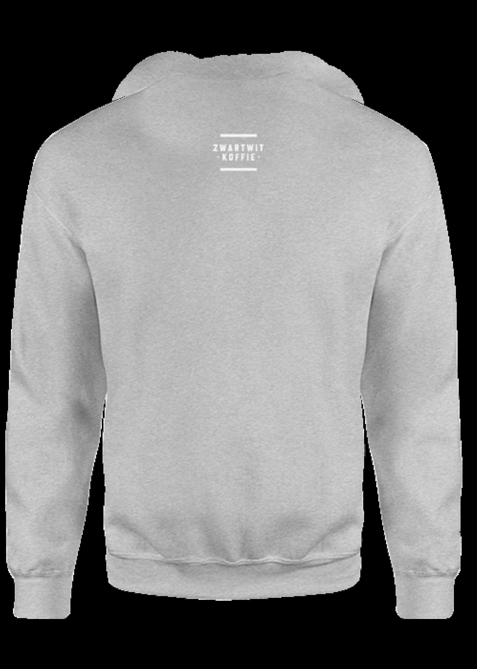 Rebel & Dutch ZwartWit sweater zwart zwart