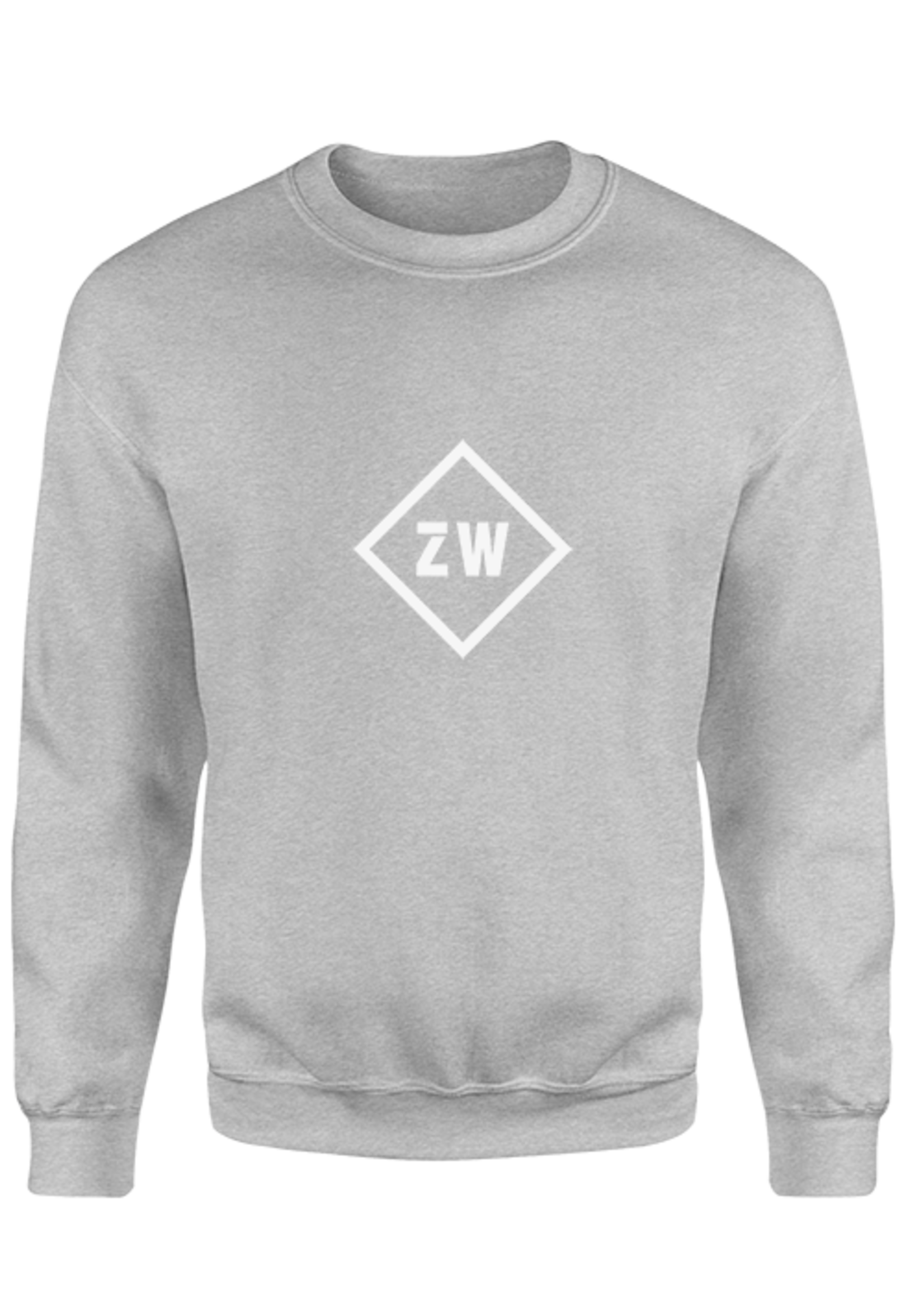 Rebel & Dutch ZwartWit sweater grey white